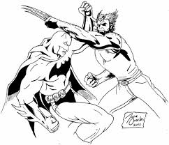 wolverine coloring pages print kids kifps