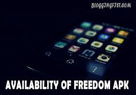 freedem apk availability of freedom apk