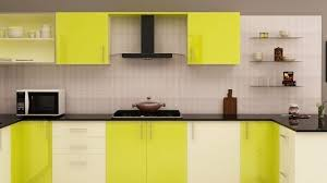 Modular Kitchen Wall Cabinets Kitchen Laminates Colour Combination Brown Modern Laminate Wood