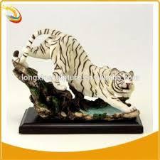 resin white tiger statue life size resin animal statue interior