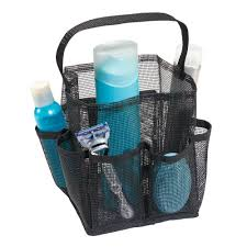 Shower Accessories Amazon Com Interdesign Una Bathroom Shower Caddy U2013 Mesh Tote