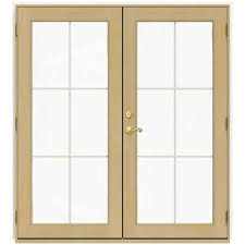Jeld Wen French Patio Doors With Blinds 72 X 80 Jeld Wen French Patio Door Patio Doors Exterior