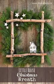 christmas crafts diy christmas wreaths coat hanger birch and