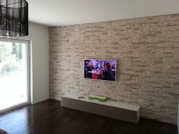 steinwand wohnzimmer tv uncategorized ehrfürchtiges steinwand wohnzimmer mit imposing