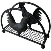Black And White Rooster Decor Rooster Kitchen Decor