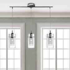 quartz countertops 3 light kitchen island pendant lighting