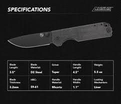 ausus a luxury edc knife without the luxury pricetag by statgear