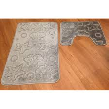 Large Selection Of Quality Turkish Made  Piece NonSlip Bath Mat - Mat for bathroom