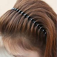 hair band renext unisex black wave metal hoop hair band