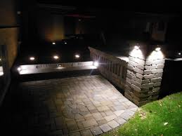 Patio Pillar Lights Youngbauer Landscaping Landscape Lighting Outdoor Kitchens