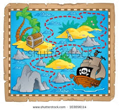 treasure map treasure island stock images royalty free images vectors