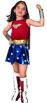 woman costumes dc heroes woman child s costume medium