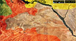 Map Syria by Full Map Of Battle For Central Syria