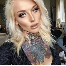 100 tattooed blonde blonde tattooed hotties slingerville