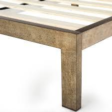 the frame gold brushed steel bed frame keetsa mattresses