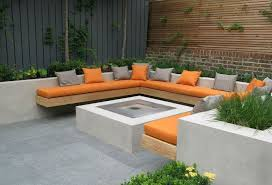 Decks With Benches Built In Outdoor Bench Seating Treenovation