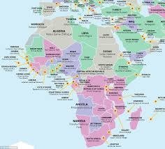 Zambia Map Map Reveals The Top Tourist Attraction In Every Country Including