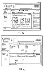 patent us7739723 media engine user interface for managing media