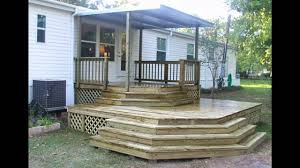 mobile home porch ideas youtube with photo of inexpensive front