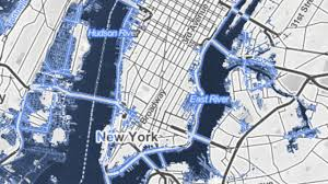 New Orleans On Map by See How Much Of Miami New Orleans And New York Will Be