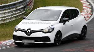 old renault clio renault clio rs spied without the camouflage