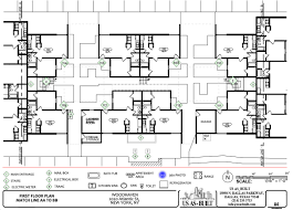 residential house plans us as built
