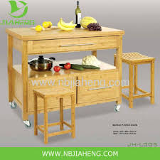 bamboo kitchen island horizontal pressed solid bamboo kitchen island cart