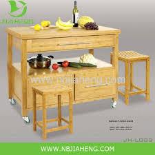 bamboo kitchen island horizontal pressed natural solid bamboo kitchen island cart