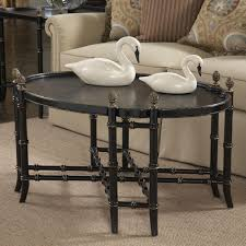 Chinoiserie Secretary Desk by Belfort Signature Belmont New London Chinoiserie Cocktail Table