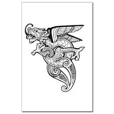 25 beautiful viking dragon tattoo ideas on pinterest dragon