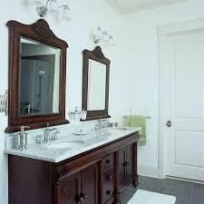 Bathroom Double Vanity Cabinets by 39 Best Dark Bathroom Cabinets Images On Pinterest Bathroom