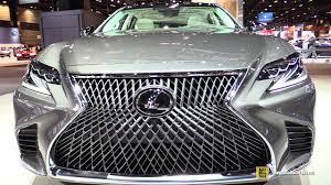 lexus usa twitter 2018 lexus ls500 exterior and interior walkaround 2017 chicago