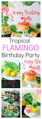 Tropical Party Themes - flamingo birthday party that will have the kids stand in wonder
