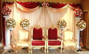 wedding stage flower decorations indian wedding decorations fancy