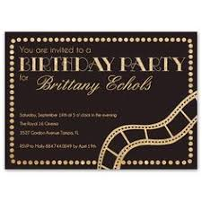 old hollywood glamour invitation 21st birthday party invitations
