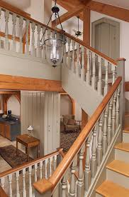 Painted Banister Ideas Painted Staircase Ideas Staircase Traditional With Wood Banister