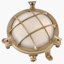 Nautical Outdoor Lights by Round Nautical Marine Brass Bulkhead Light Wall Lamp Art Br434