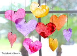 valentines day kids s day sun catchers kids craft
