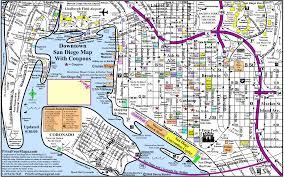 San Diego Trolley Map San Diego Downtown Transport Map U2022 Mapsof Net