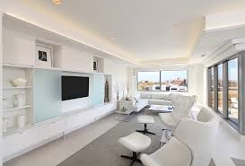 Modern Cabinet Living Room by Hidden Tv Cabinet Bedroom Modern With Balcony Foot Of Bed