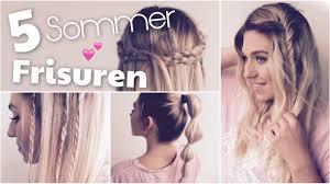 Frisuren Lange Haare Schnell by 5 Perfekte Sommer Frisuren Schnell Einfach