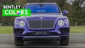 2017 bentley bentayga trunk 2017 bentley bentayga w12 u0026 diesel colors youtube