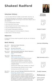 Extra Curricular Activities In Resume Sample by Board Member Resume Samples Visualcv Resume Samples Database