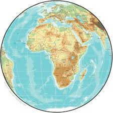 Africa Geographical Map by We Are Now The Canada Africa Chamber Of Business