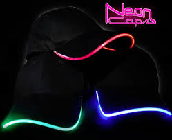 lighted led neon hat yugster