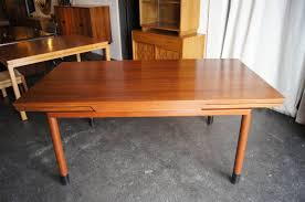 walnut extension dining table by edward wormley for dunbar for