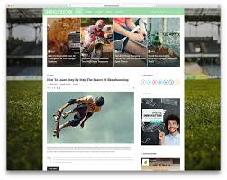 best wordpress sports themes for magazines and sports teams 2017
