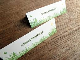 printable place card garden e m papers
