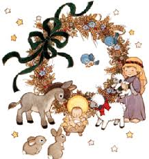 christmas animal clipart free religious christmas clipart free