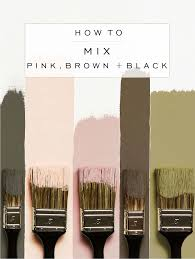 how to mix pink brown black face modern and bedrooms